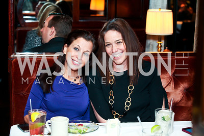 Wendy Diamond, Nicole Bagley. Photo by Tony Powell. Huffington Post Inaugural Parade Watch Celebration. Old Ebbitt Grill. January 21, 2013