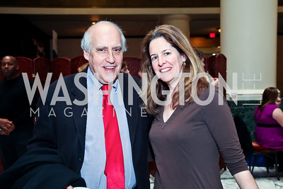 Dan Glickman, Allison Silberberg. Photo by Tony Powell. Huffington Post Inaugural Parade Watch Celebration. Old Ebbitt Grill. January 21, 2013