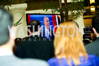 Photo by Tony Powell. Huffington Post Inaugural Parade Watch Celebration. Old Ebbitt Grill. January 21, 2013
