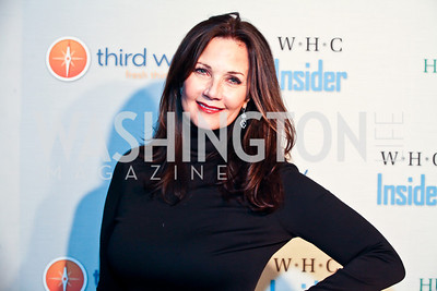 Lynda Carter. Photo by Tony Powell. Huffington Post Inaugural Parade Watch Celebration. Old Ebbitt Grill. January 21, 2013