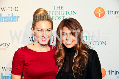 Miss America Mallory Hagan, Paula Abdul. Photo by Tony Powell. Huffington Post Inaugural Parade Watch Celebration. Old Ebbitt Grill. January 21, 2013
