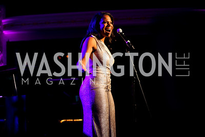 "Audra McDonald. Photo by Tony Powell. HRC Inaugural Ball ""Out for Equality."" Mayflower Hotel. January 21, 2013"