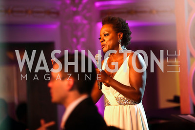 "Actress Viola Davis. Photo by Tony Powell. HRC Inaugural Ball ""Out for Equality."" Mayflower Hotel. January 21, 2013"