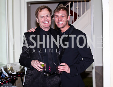 "Bruce Bastian, Clint Ford. Photo by Tony Powell. HRC Inaugural Ball ""Out for Equality."" Mayflower Hotel. January 21, 2013"