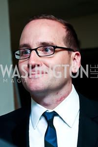 """Human Rights Campaign President Chad Griffin. Photo by Tony Powell. HRC Inaugural Ball """"Out for Equality."""" Mayflower Hotel. January 21, 2013"""