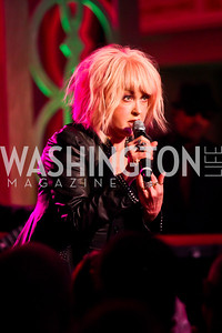 "Cyndi Lauper. Photo by Tony Powell. HRC Inaugural Ball ""Out for Equality."" Mayflower Hotel. January 21, 2013"