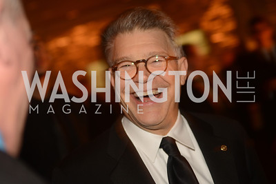 Senator Al Franken,  Artists Making an IMPACT , Inauguration Dinner, OYA Restaurant and lounge. Photo by Ben Droz.