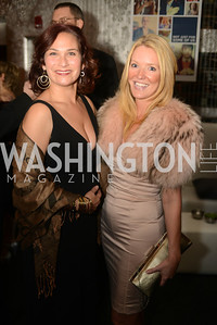 Ilyse Hogue, Samantha Gross, Artists Making an IMPACT , Inauguration Dinner, OYA Restaurant and lounge. Photo by Ben Droz.