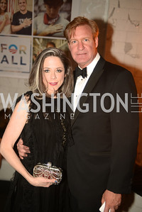 Heather Podesta, John Blandford, Artists Making an IMPACT , Inauguration Dinner, OYA Restaurant and lounge. Photo by Ben Droz.