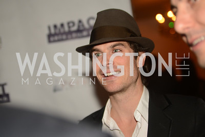 Ian Somerhalder,  Artists Making an IMPACT , Inauguration Dinner, OYA Restaurant and lounge. Photo by Ben Droz.