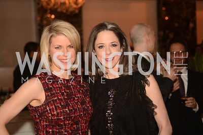 Penny Lee, Heather Podesta,  Artists Making an IMPACT , Inauguration Dinner, OYA Restaurant and lounge. Photo by Ben Droz.