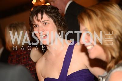 Sandra Fluke,  Artists Making an IMPACT , Inauguration Dinner, OYA Restaurant and lounge. Photo by Ben Droz.