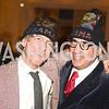 Ira Silverberg, Bob Morris,  Artists Making an IMPACT , Inauguration Dinner, OYA Restaurant and lounge. Photo by Ben Droz.