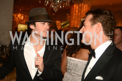 Ian Somerhalder, Vincent De Paul,  Artists Making an IMPACT , Inauguration Dinner, OYA Restaurant and lounge. Photo by Ben Droz.
