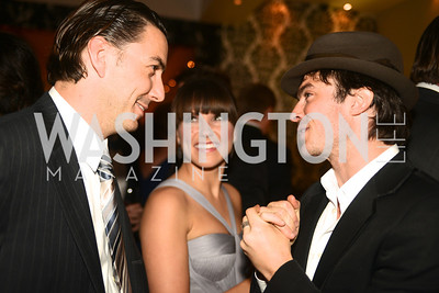 Amos Hochstein, Sophia Bush, Ian Somerhalder,Artists Making an IMPACT , Inauguration Dinner, OYA Restaurant and lounge. Photo by Ben Droz.
