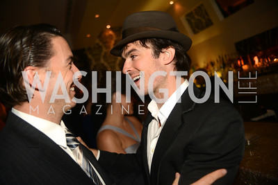 Amos Hochstein, Ian Somerhalder, Artists Making an IMPACT , Inauguration Dinner, OYA Restaurant and lounge. Photo by Ben Droz.