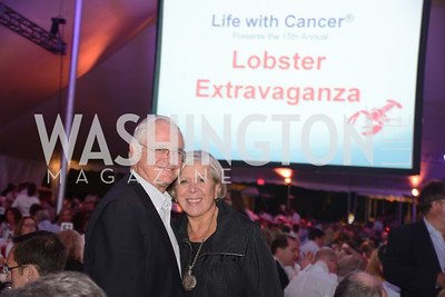Annual 'Life with Cancer' Lobster Extravaganza, at the home of Milton Peterson.  Saturday May 4, 2013.  Photo by Ben Droz.