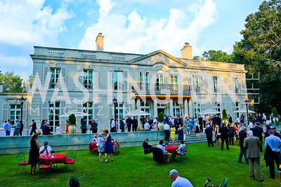 Photo by Tony Powell. 2013 Belgium National Day Celebration at the residence of the Belgian Ambassador. July 18, 2013