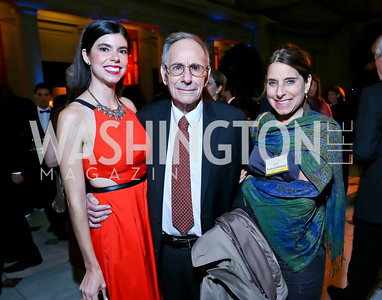 Eden Raskin, IPS Founder Marcus Raskin and Erika Raskin Littlewood. Photo by Tony Powell. Institute for Policy Studies' 50th Anniversary Gala. Union Station. October 13, 2013