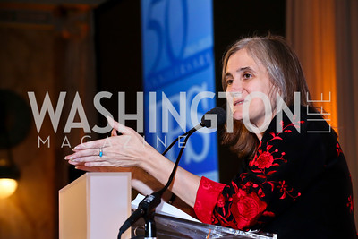 Democracy Now! Executive Producer and Host Amy Goodman. Photo by Tony Powell. Institute for Policy Studies' 50th Anniversary Gala. Union Station. October 13, 2013