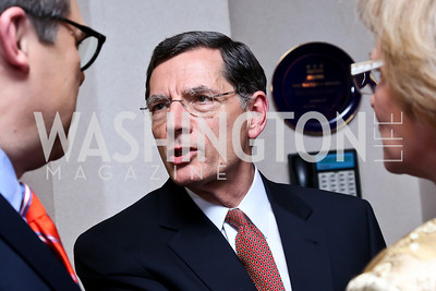 "Wyoming Sen. John Barrasso. Photo by Tony Powell. James Swanson ""End of Days"" book party. 116 Club. November 14, 2013"