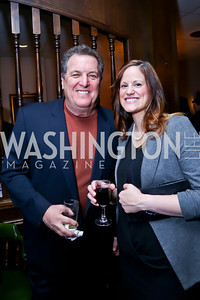 "Actor Mike Starr, Cim Wilkins. Photo by Tony Powell. James Swanson ""End of Days"" book party. 116 Club. November 14, 2013"