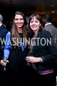 "Amanda and Abigail Reinecker. Photo by Tony Powell. James Swanson ""End of Days"" book party. 116 Club. November 14, 2013"