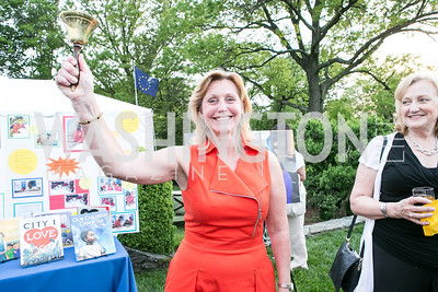 Eva Hafstrom. Photo by Alfredo Flores. Junior Tennis Champions Center Celebration. Residence of the Swedish Ambassador. May 15, 2013
