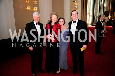 Earl Potter,Susan Eisenhower,Deborah Potter,Bucky Clarkson, May 5,2013,Kennedy Center Spring Gala,Kyle Samperton