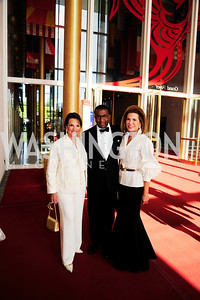 Grace Bender,Eric Motley,Nancy Brinker, May 5,2013,Kennedy Center Spring Gala,Kyle Samperton