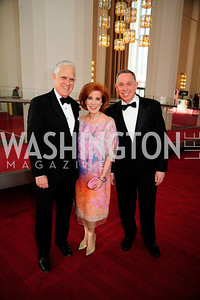 Chuck Miller,Patricia Sagon,Michael Kaiser, May 5,2013,Kennedy Center Spring Gala,Kyle Samperton