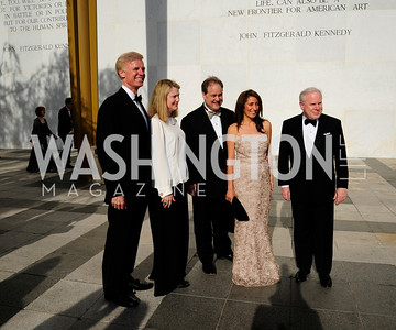 Fred Ryan, Genny Ryan,Paul Carter,Rose Carter,John Rogers,May 5,2013,Kennedy Center Spring Gala,Kyle Samperton