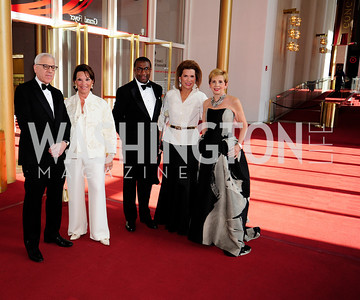 David Rubenstein,Grace Bender,Eric Motley,Nancy Brinker,  Adrienne Arsht,May 5,2013,Kennedy Center Spring Gala,Kyle Samperton
