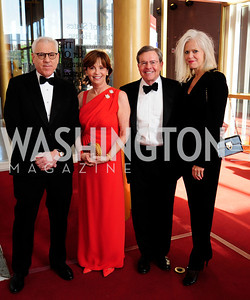 David Rubenstein, Ann Free,Jim Free,Susan Herald,May 5,2013,Kennedy Center Spring Gala,Kyle Samperton