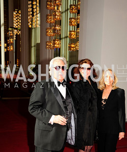 Bill Lemer,Suellen Esrtin,Micky Lemer,May 5,2013,Kennedy Center Spring Gala,Kyle Samperton