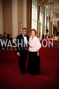 Eric Motley,Nancy Brinker, May 5,2013,Kennedy Center Spring Gala,Kyle Samperton