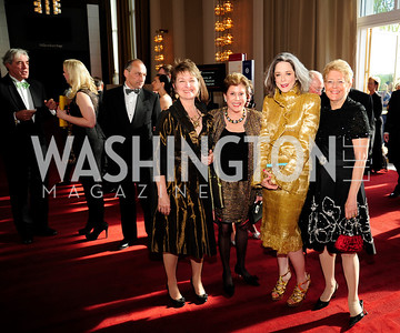 Dorothy Kosinski,Liz Dubin,Heather Podesta,Nancy Zirkin,,May 5,2013,Kennedy Center Spring Gala,Kyle Samperton