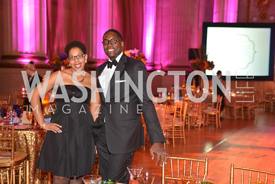 Latoya Lewis, Andre Wells, LUNGevity Foundation's Musical Celebration of Hope.  Andrew Mellon Auditorium.  October 26, 2013.  Photo by Ben Droz.