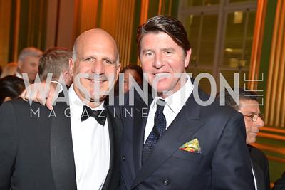 David Dirris, Bruce Bradley, LUNGevity Foundation's Musical Celebration of Hope.  Andrew Mellon Auditorium.  October 26, 2013.  Photo by Ben Droz.