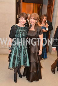 Marlen Malek, Susan Davis, LUNGevity Foundation's Musical Celebration of Hope.  Andrew Mellon Auditorium.  October 26, 2013.  Photo by Ben Droz.