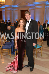 Mallory Tablintino, Russell Hirshon, LUNGevity Foundation's Musical Celebration of Hope.  Andrew Mellon Auditorium.  October 26, 2013.  Photo by Ben Droz.