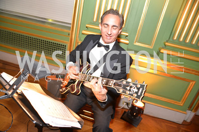 Dave Leoni, Guitar, LUNGevity Foundation's Musical Celebration of Hope.  Andrew Mellon Auditorium.  October 26, 2013.  Photo by Ben Droz.