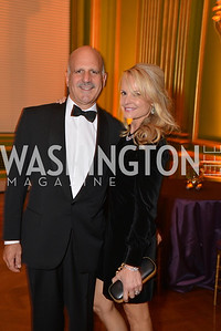 David Dorros, Jamie Dorros, LUNGevity Foundation's Musical Celebration of Hope.  Andrew Mellon Auditorium.  October 26, 2013.  Photo by Ben Droz.