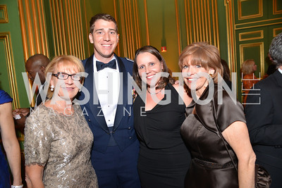 Marcia Carlucci, Josh Weed, Kristin Weed, Susan Davis,LUNGevity Foundation's Musical Celebration of Hope.  Andrew Mellon Auditorium.  October 26, 2013.  Photo by Ben Droz.