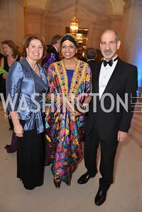 Mary Brooks, Alexine Jackson, Michael Friedman, LUNGevity Foundation's Musical Celebration of Hope.  Andrew Mellon Auditorium.  October 26, 2013.  Photo by Ben Droz.