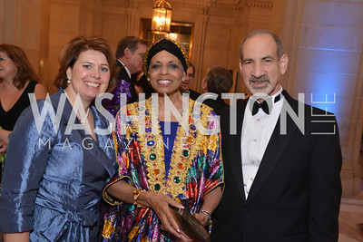 Mary Brooks, Alexine Jackson, Michael Friedman, LUNGevity Foundation's Musical Celebration of Hope.  Andrew Mellon Auditorium.  October 26, 2013.  Photo by Ben Droz.