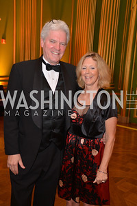 Mark Walsh, Polly Vail, LUNGevity Foundation's Musical Celebration of Hope.  Andrew Mellon Auditorium.  October 26, 2013.  Photo by Ben Droz.