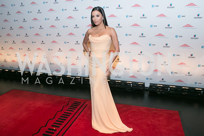 Eva Longoria. Photo by Alfredo Flores. Latino Inaugural 2013. John F. Kennedy Center for the Performing Arts. January 20, 2013.