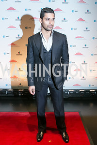 Wilmer Valderrama. Photo by Alfredo Flores. Latino Inaugural 2013. John F. Kennedy Center for the Performing Arts. January 20, 2013.