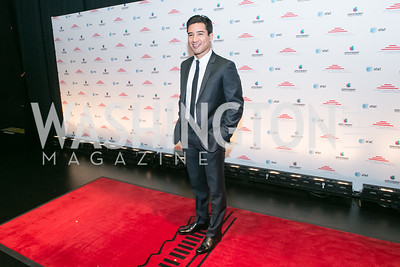 Mario Lopez. Photo by Alfredo Flores. Latino Inaugural 2013. John F. Kennedy Center for the Performing Arts. January 20, 2013.